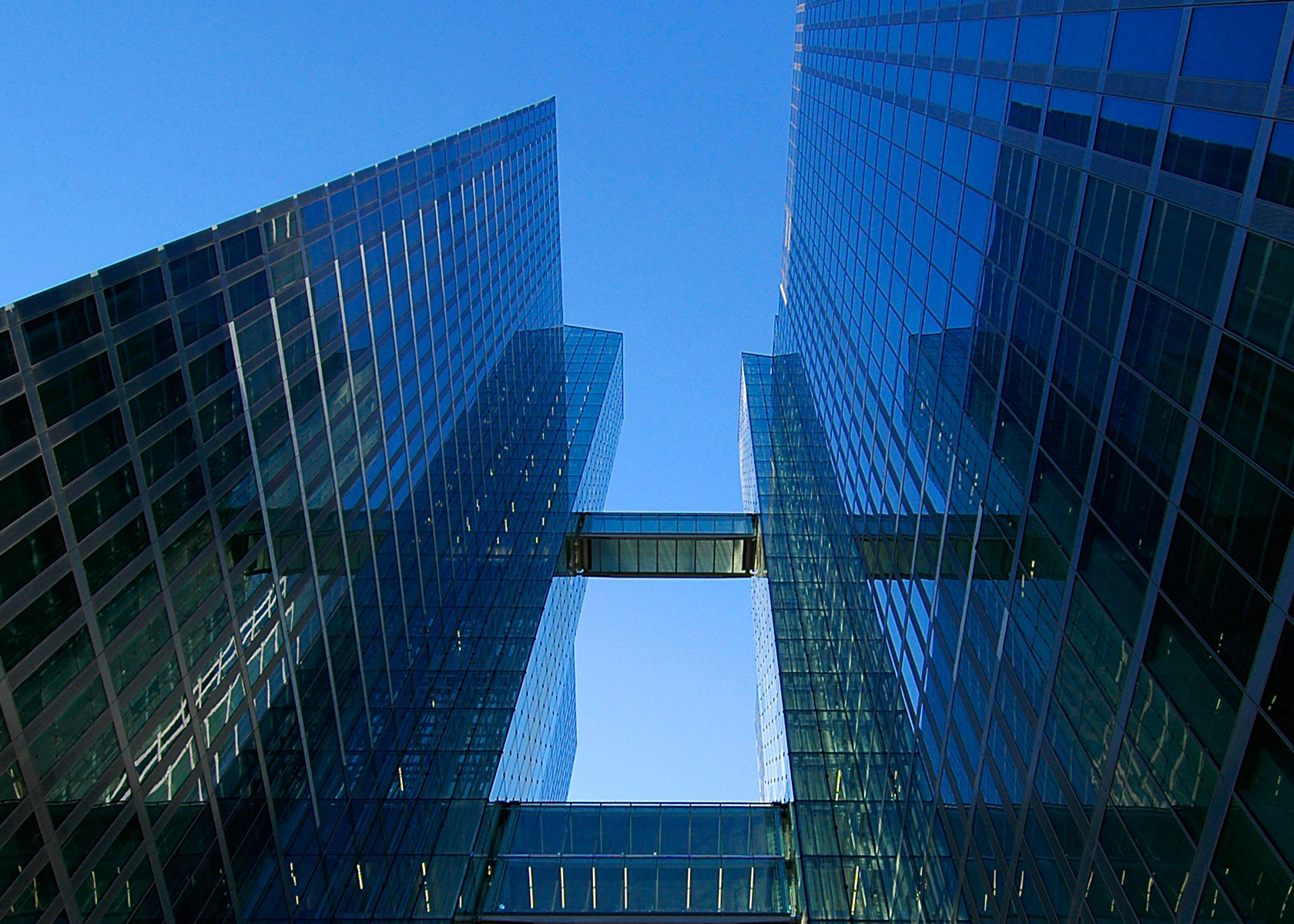 Architekturfotos: Highlight Towers, München