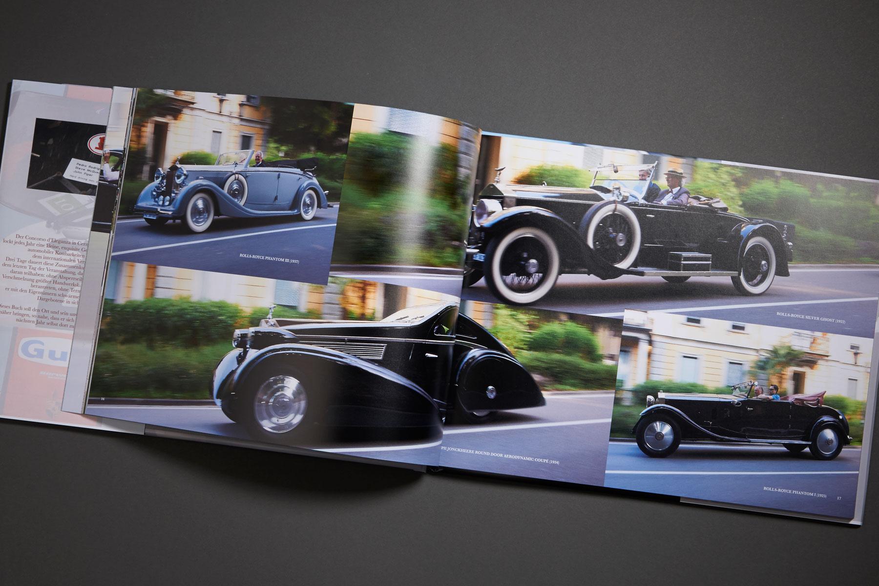 Concorso D'Eleganza – Das Buch – Bildband