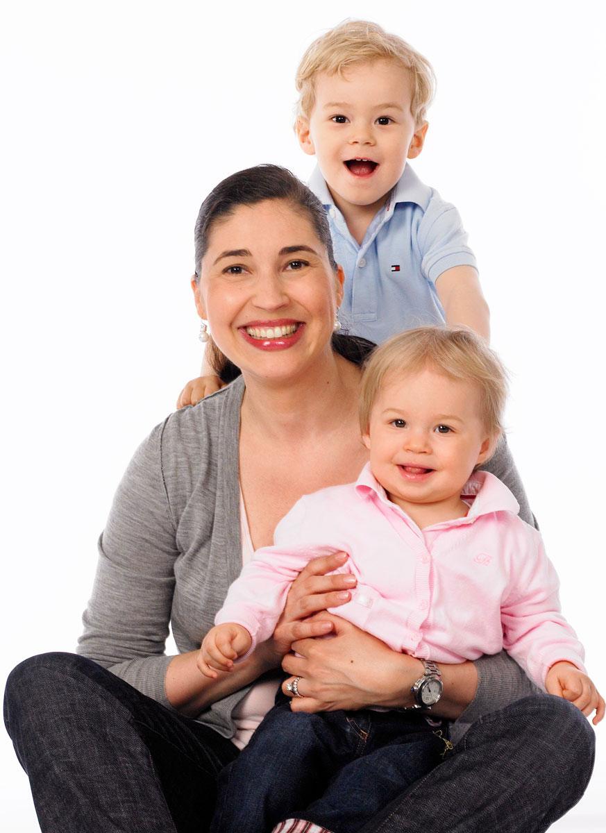 Familienaufnahmen im Studio