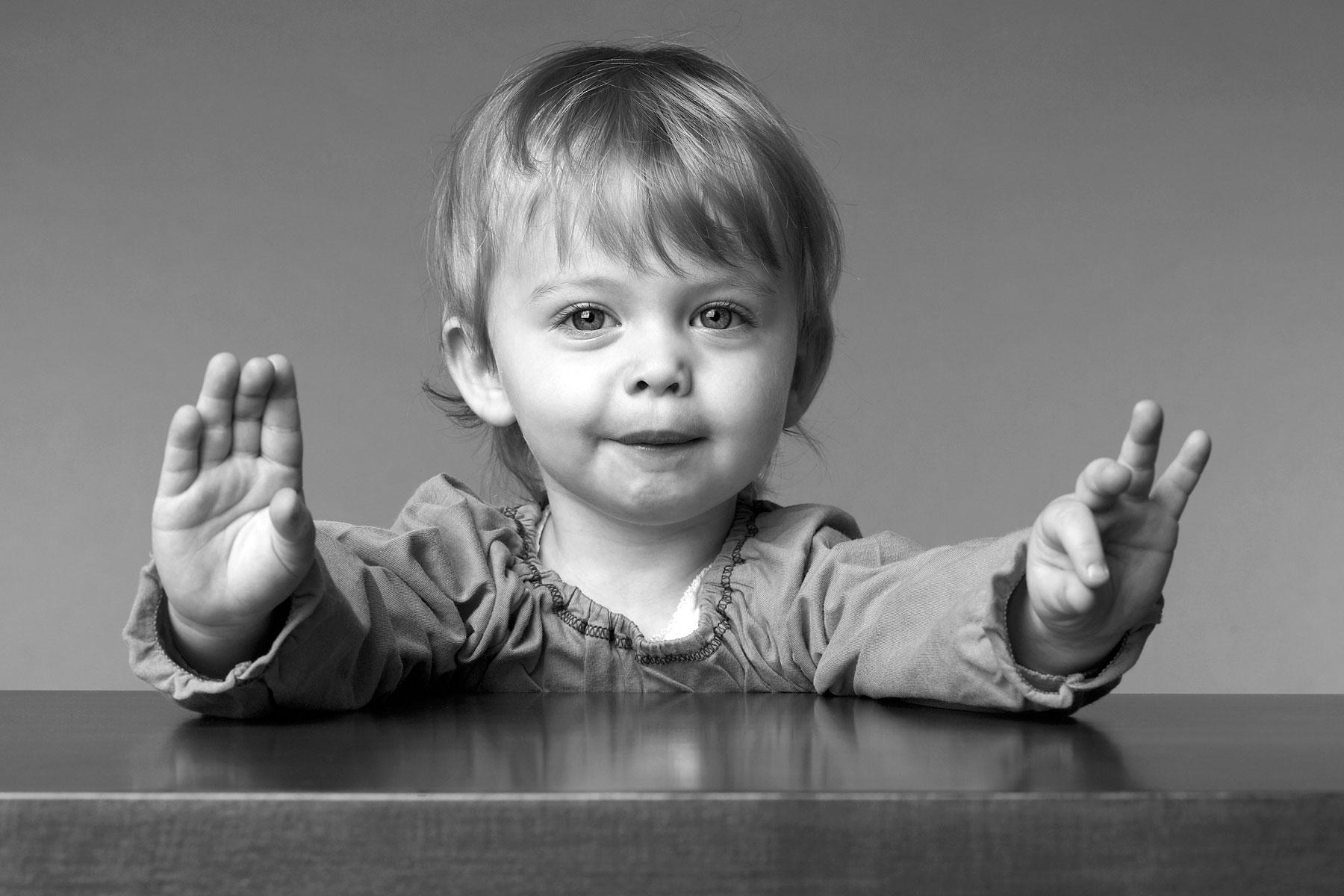 Eine Session Kinderfotografie muss auch den Kindern selbst Spaß machen.