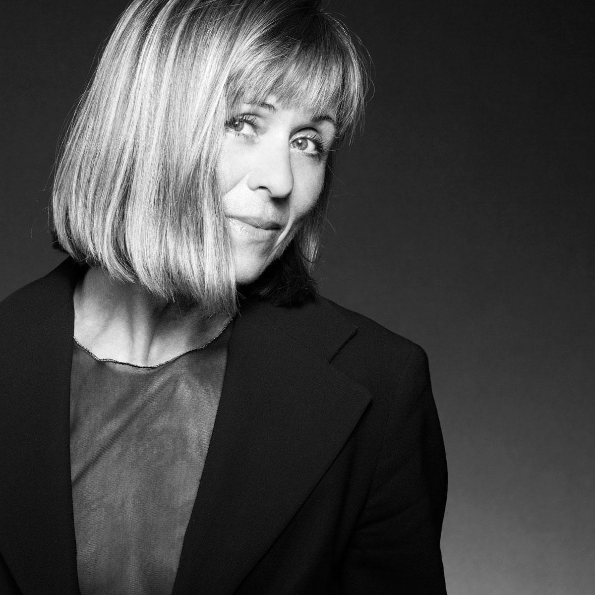 Künstlerfoto: Jazzsängerin Rosa Volpini.