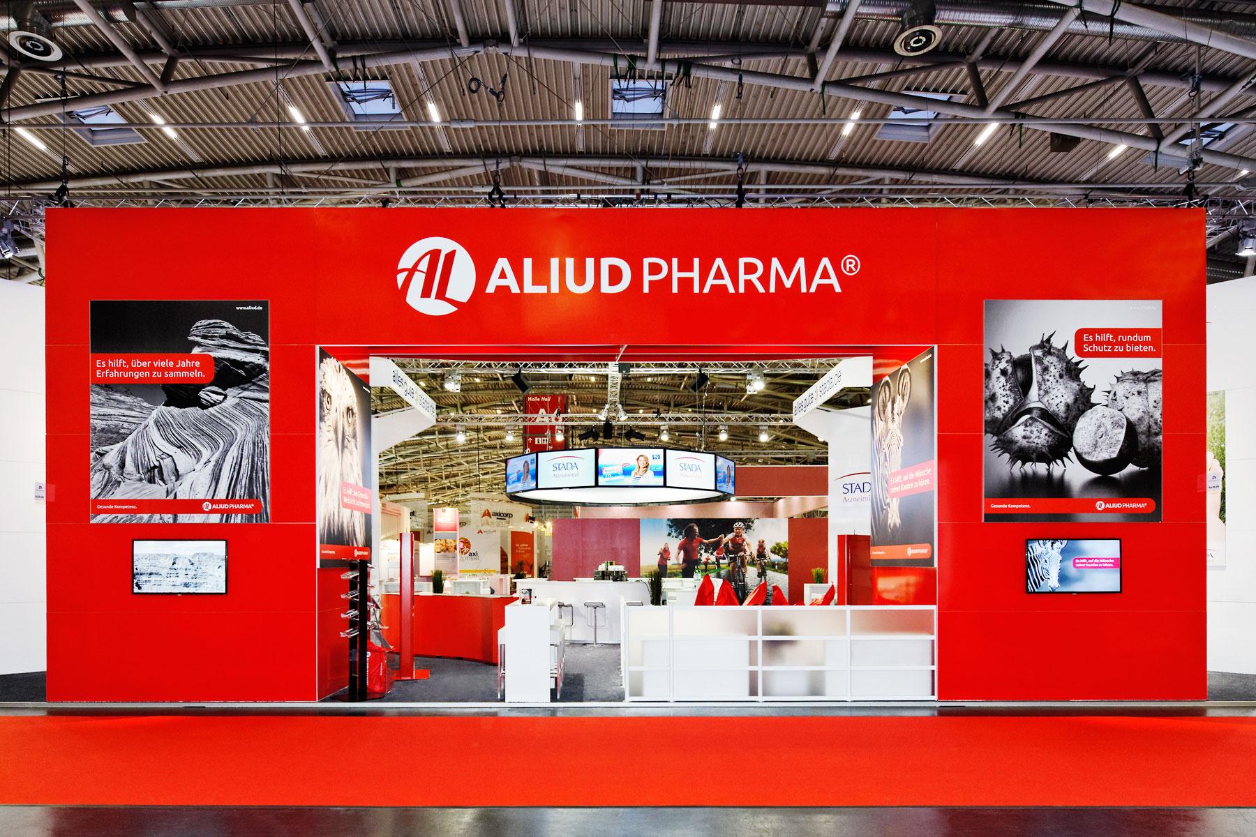 Messefotografie – Aliud Pharma