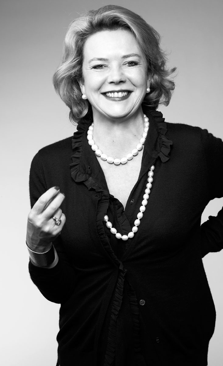 Ein Damen-Portrait in Schwarzweiß ist zeitlos schön und elegant.